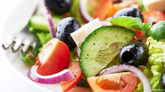 Greek salad in Valentino